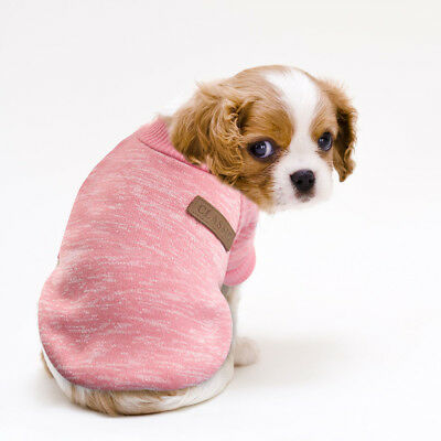 Small Dog Sweater Chihuahua Clothes XS Christmas Pet Cat Jumper Winter Vest Coat 10