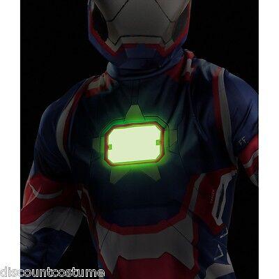 Avengers Iron Man 3 Iron Patriot Costume Marvel Comics Brand New 55640