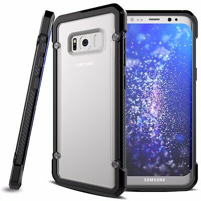 For Samsung Galaxy S8+ Plus Case Hybrid TPU ShockProof Protective Rugged Cover 9