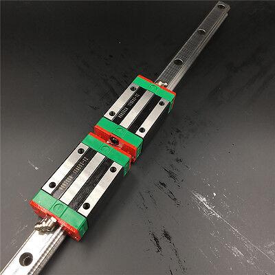 Linear Rail Guide 25mm HGR25 L1500mm&2pc HGH25CA Rail Block Replace for HIWIN 2