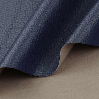 """Vinyl Faux Leather Fabric Litchi Pleather Upholstery Fabric 54"""" Wide By the Yard 11"""