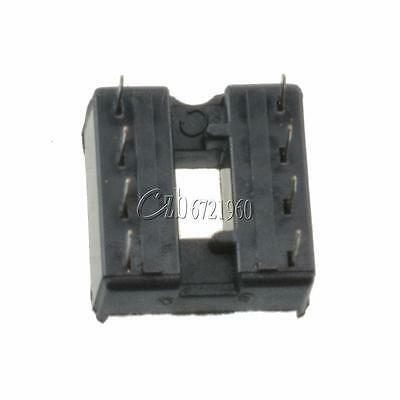 100PCS 8-Pins 8pin DIP Pitch IC Sockets Adaptor Solder Type Socket 3