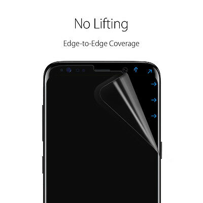 [2PK OR 3PK] Galaxy S8 / S8 Plus Spigen® [Neo Flex] Film Screen Protector 3