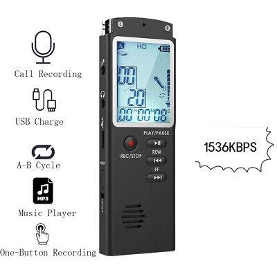 32G Voice Activated Mini Spy Digital Sound Audio Recorder Dictaphone MP3 Player 11