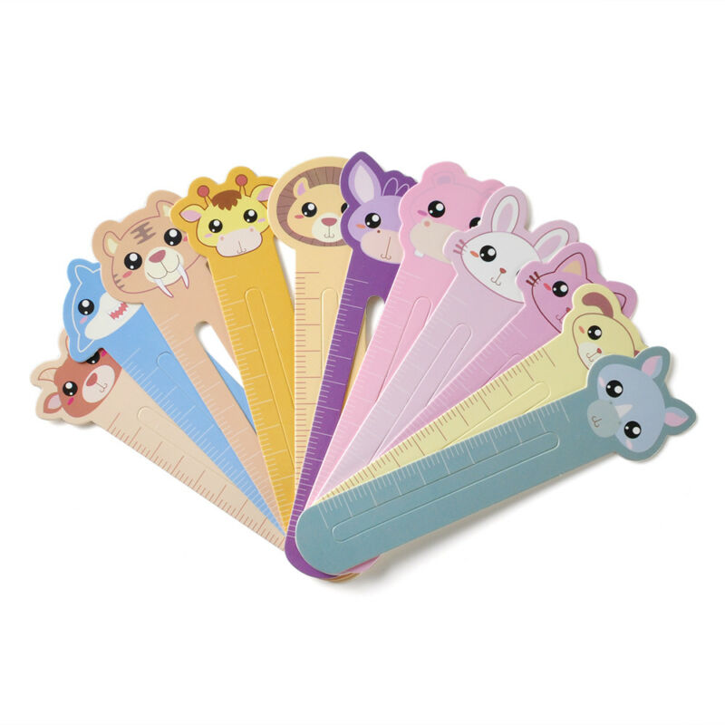30 Pcs Kawaii Fun Animal Farm Cartoon Bookmark Paper For Books Babys Gifts Cute 8
