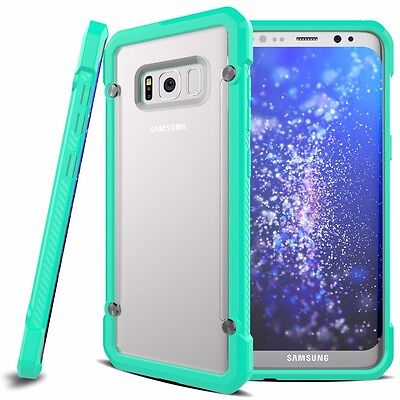 For Samsung Galaxy S8+ Plus Case Hybrid TPU ShockProof Protective Rugged Cover 10