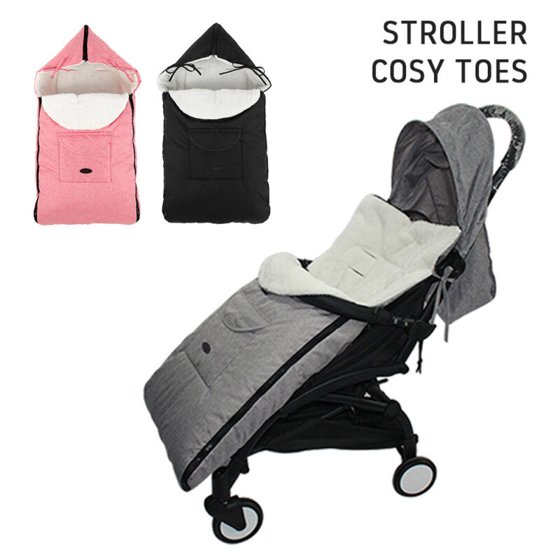 Universal Footmuff Pushchair Baby Cosy Toes Toddler Buggy Stroller Pram Long New 2