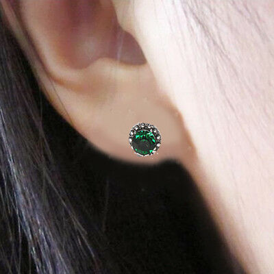 5 Pairs Bohemian Crystal Stud Earrings Cubic Zirconia Water Drop Earring Jewelr 8