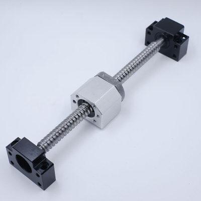 Rolled Ballscrew SFU1204/1605/2005/2505/3205&Ballnut&End Support CNC Machine Kit 3