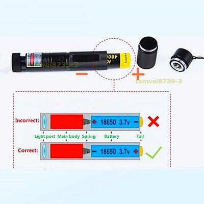 Neue Militärgrün Präsentationsbedarf Laserpointer Lazer Light Visible Beam Grün 8