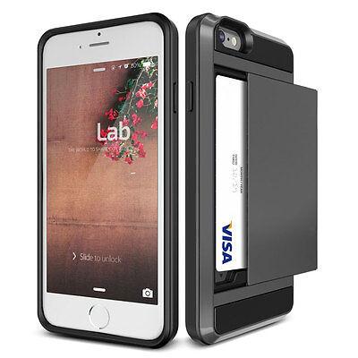 new concept 8a995 ef264 SLIDE WALLET CASE Credit Card Hidden Slot Pocket ID Cash For iPhone 5 5s 5G  SE