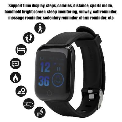116Plus Smart Watch Bluetooth Heart Rate Blood Pressure Monitor Fitness Tracker 8