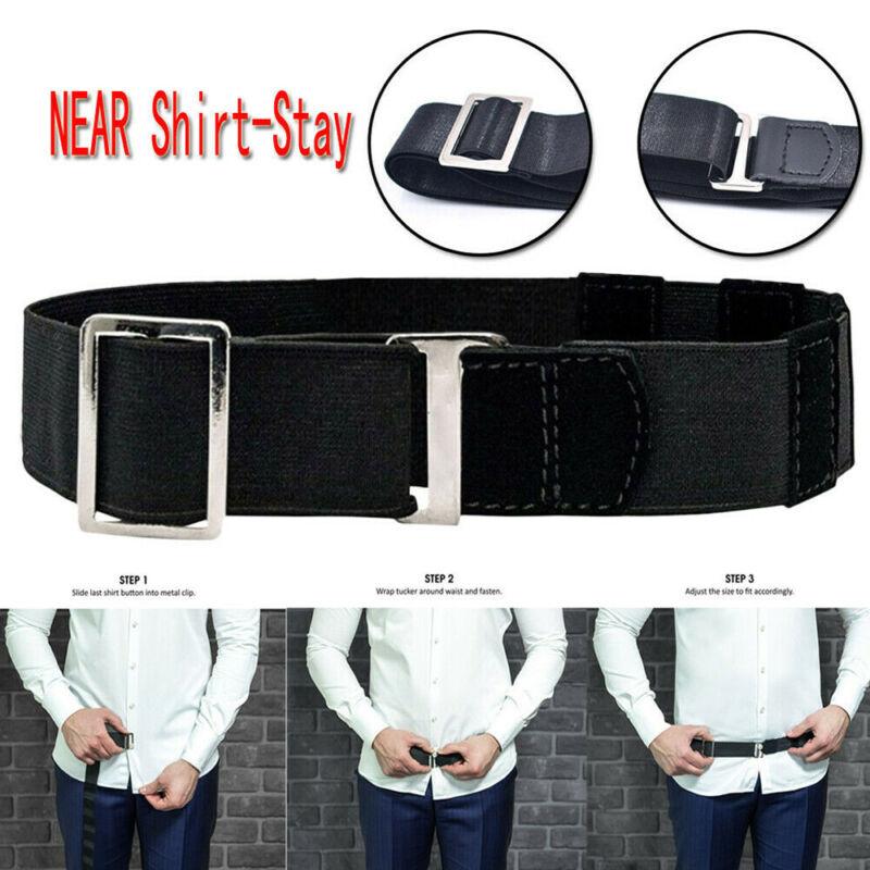 Adjustable Men Near Shirt-Stay Best Shirt Stays Shirt Tucked Belt Tuck It Belt 3