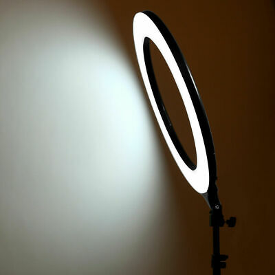 14 Inch LED Ring Light With Stand and Phone Holder Make-up for Camera iPhone UK 10