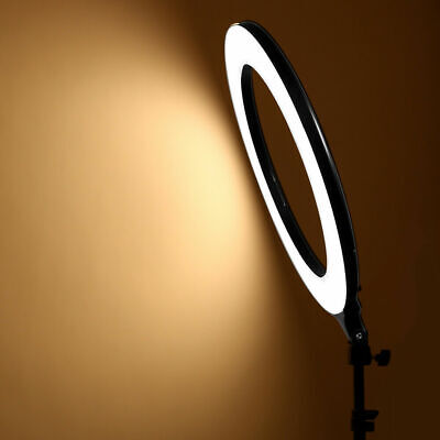 14 Inch LED Ring Light With Stand and Phone Holder Make-up for Camera iPhone UK 9