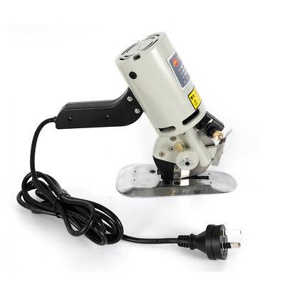 110V Electric Cloth Cutter Fabric Leather Rotary Blade Cutting Scissors Machine 10