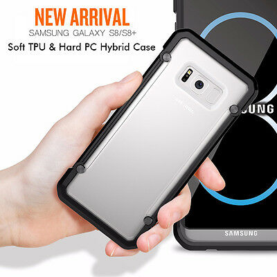 For Samsung Galaxy S8+ Plus Case Hybrid TPU ShockProof Protective Rugged Cover 2
