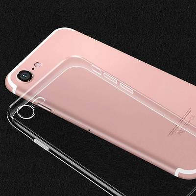 Ultra-Thin Clear Soft Silicone TPU Transparent Case Cover For iPhone 6S 7Plus XR 2