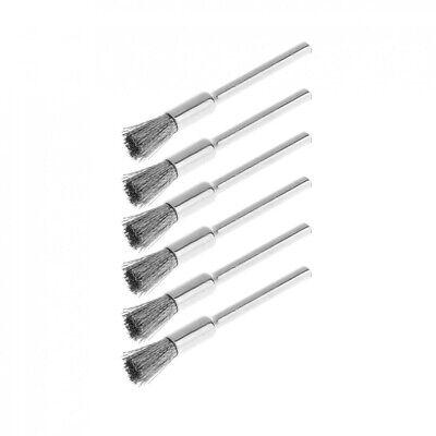 36pcs Wire Steel Brass Brushes Polishing Brush Wheels Set for Dremel Rotary Tool 10