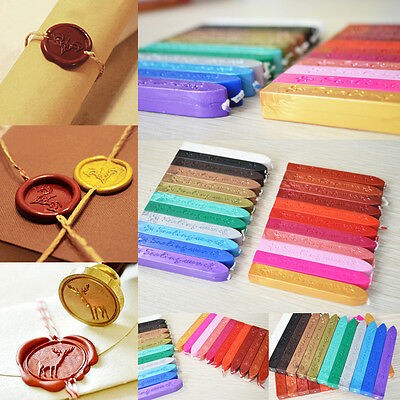1/5X Traditional Wax Sealing Stick for Letter Stamp Seal Melting Candle Envelope 8