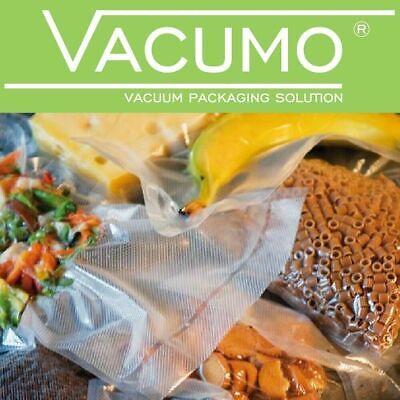 1000 Vakuumbeutel 18 x 25 cm VACUMO S-VAC Vakuumfolie Vakuumierbeutel goffriert