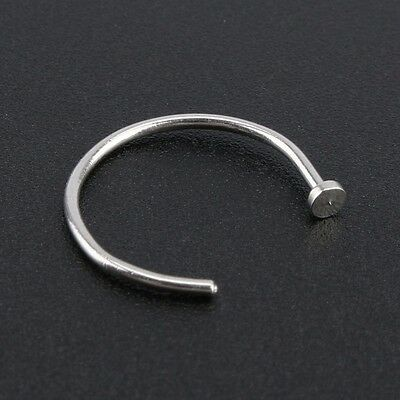 Fake Nose Ring Septum Ring Hoop Cartilage Tragus Helix Small Thin Piercing Daith