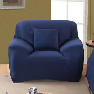 EASY Stretch Couch Sofa Lounge Covers Recliner 1 2 3 4 Seater Dining Chair Cover 7