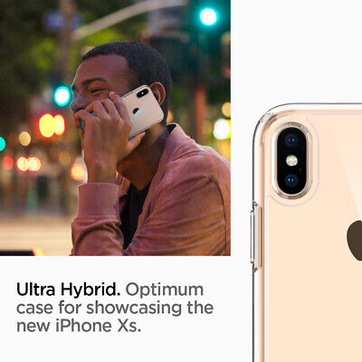 iPhone X/XS, XS MAX, XR Case Spigen® [Ultra Hybrid] Protective Shockproof Cover 7