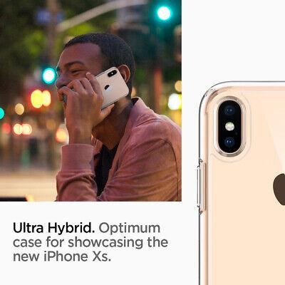 iPhone X/XS,XS MAX,XR Spigen® [Ultra Hybrid] Hybrid Bumper Shockproof Case Cover 7