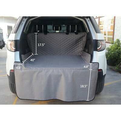 Pet Dog Car SUV Truck Seat Cover Quilted Rear Back Waterproof Protector Pad Mat 2