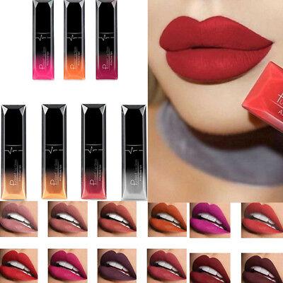 21 Colors Women Matte Liquid Pencil Lipstick Lip Gloss Waterproof Lasting Makeup 12