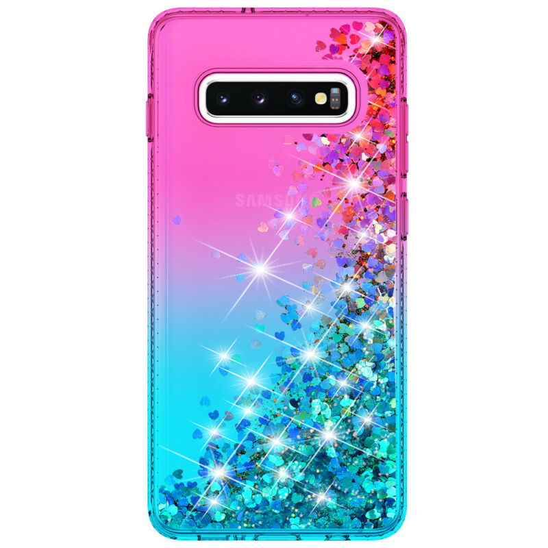 For Samsung Galaxy S9 S10 5G Plus + Note 9 10 Shockproof Cover Luxury Bling Case 2