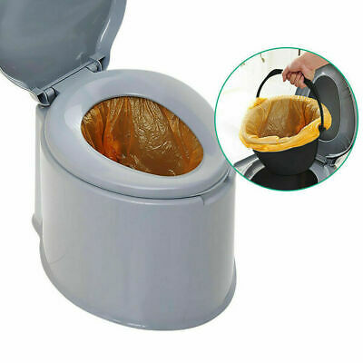 Outdoor Portable Toilet 6L Camping Potty Caravan Travel Camp Boating 5