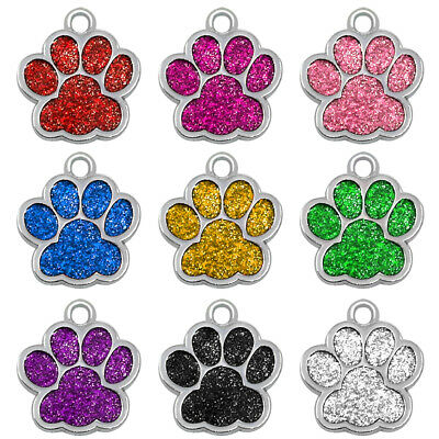 Engraved Pet Dog Tags Custom Cat ID Name Tags for Pets Personalized FREE S M L 11