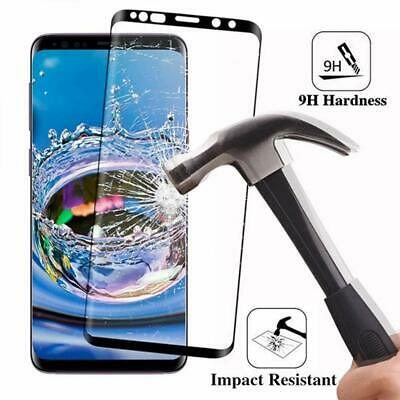 For Samsung Galaxy S9 S8 Plus - FULL COVER 3D Tempered Glass Screen Protector 7