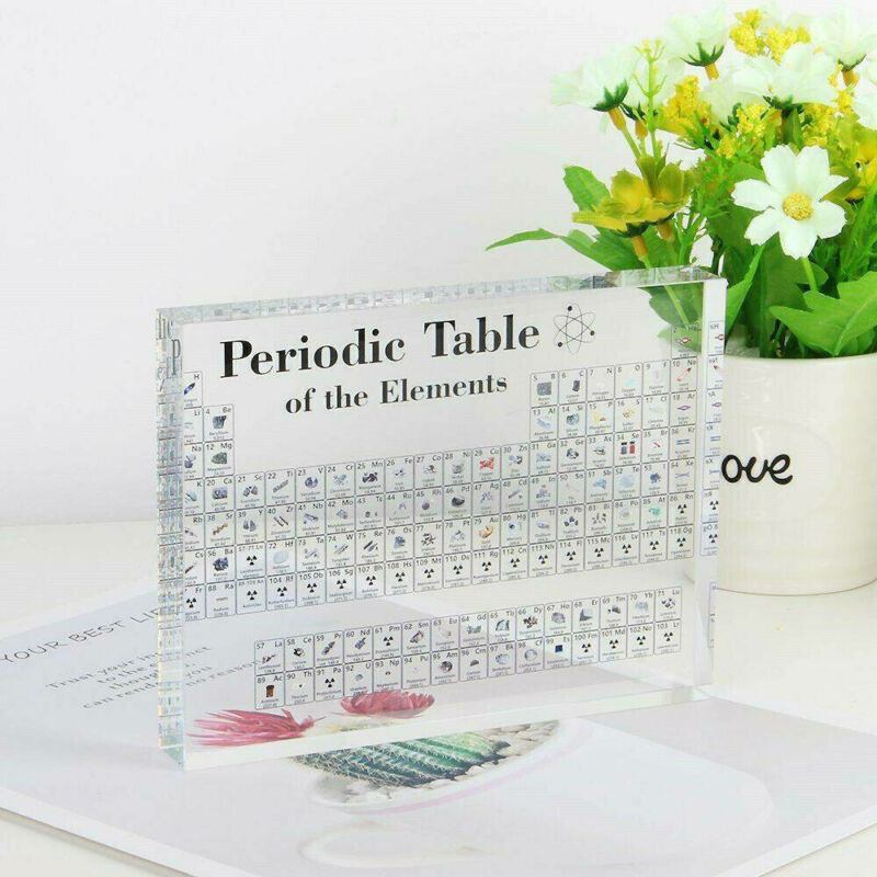 Acrylic Periodic Table Display of Elements for Teaching Home Decor Gift Xmas NEW 4