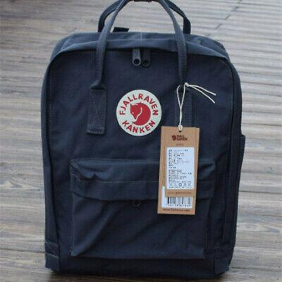 Waterproof Backpack Fjallraven Kanken 7L/16L/20L  Travel Rucksack Sport Handbag 11