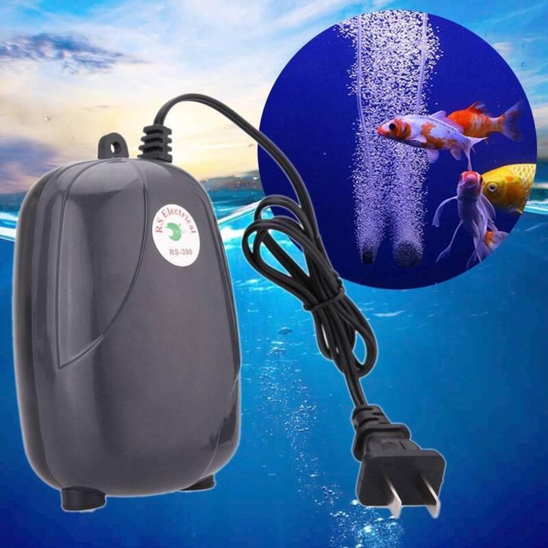 High Efficient  Fish Tank Aquarium Oxygen Fish Air Pump Tank Super Silent 3W/5W 3
