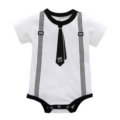 Toddler Infant Kids Baby Girl Boy Clothes Casual Romper Playsuit Jumpsuit Outfit 3