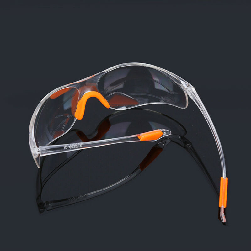 Eye Protective Glasses Clear Factory Anti-impact Goggles Safety Lab Outdoor Work 7