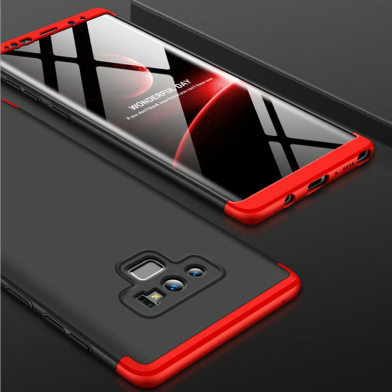 For Samsung Galaxy Note 9/8/S9/S8/S7/Plus/Shockproof 360° Case+Screen Protector 4