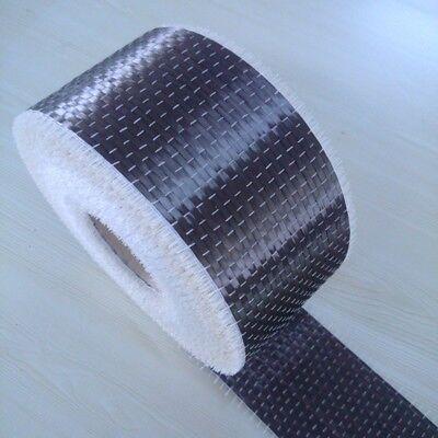 Tessuto vera fibra carbonio 12K ad alta drappeggiabilità usare con resine 150mm 3