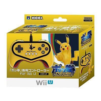 NEW Wii U Pokken Tournament Gamepad Pro Controller Pokemon Pikachu GOLD Switch 4