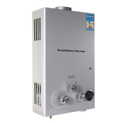 12L Durchlauferhitzer Warmwasserbereiter Boiler Natural Gas WarmwasserspeicherDE 6