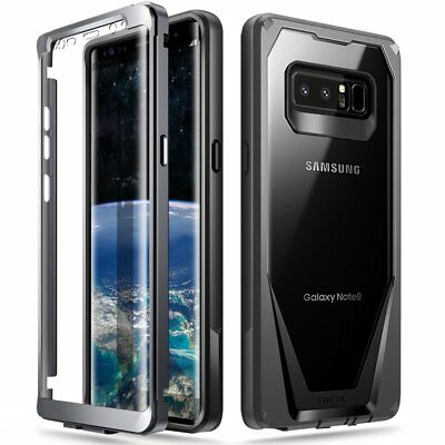 """Poetic Guardian """"Rugged Heavy Duty"""" Case Cover For Samsung Galaxy Note 8 Black 3"""