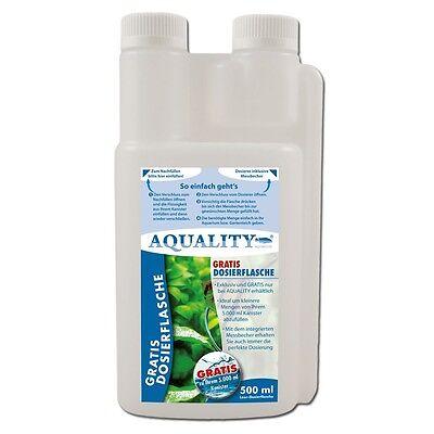 (16,00€/l) AQUALITY Eisendünger FE² 500 ml Hochwertiger Aquarium Pflanzendünger 5
