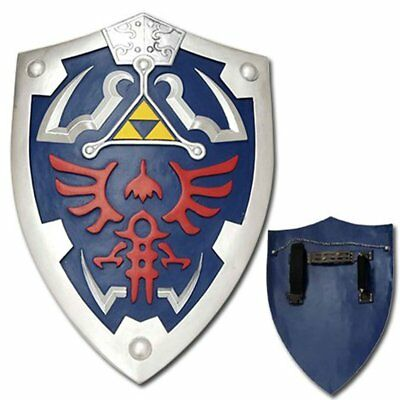 Legend of Zelda Link's Master sword and shield set Real Steel Breath of the wind