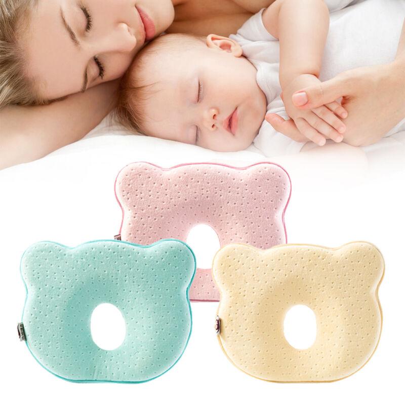Neonato Bambino Anti Memory Foam Cuscino per Testa Piatta Evitare Collo Supporto 2
