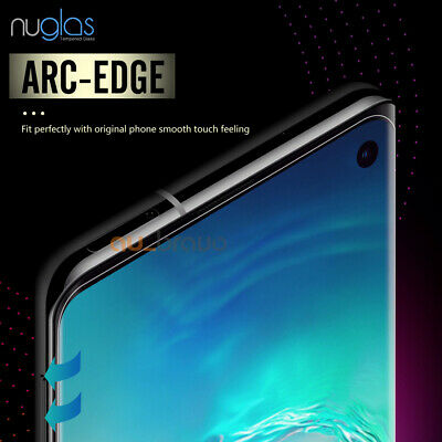 NUGLAS 3D Tempered Glass Screen Protector For Samsung Galaxy S10e S10 S10 Plus 3