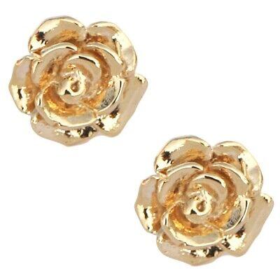 LEEVE Rose Gold Dipped Stud Earring Sterling Silver Post Korean trend Minimalism 5